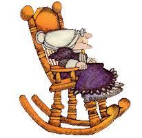 бабушка в кресле