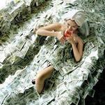 iCA3W4HJS Купаться в деньгах